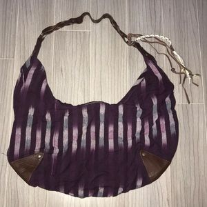 AMERICAN EAGLE Purple Tote Bag